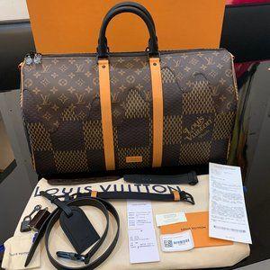 Louis Vuitton NIGO Keepall 50 Travel Bag Virgil